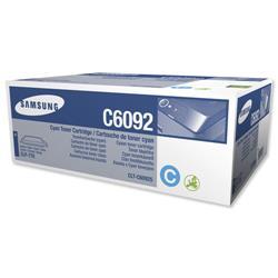 Samsung Laser Toner Cartridge Page Life 7000pp Cyan Ref CLT-C6092S/ELS