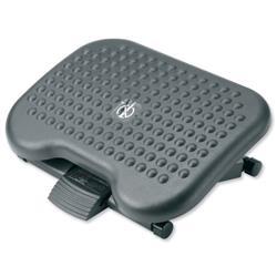 Footrest Tilting Adjustable H95-170mm Charcoal