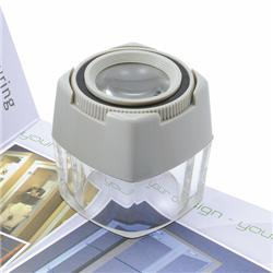 5 Star Facilities Focusing Cube Magnifier 8x Magnification