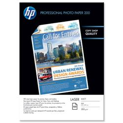 HP A4 200gsm Matt Photo Laser Paper Ref Q6550A - 100 Sheets
