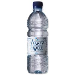 Abbey Well Natural Mineral Water Bottle Plastic Still 500ml Ref 3790 - Pack 24