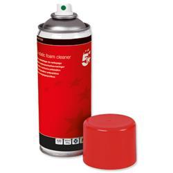 5 Star Office Anti-static Foam Cleaner General Purpose 400ml Can