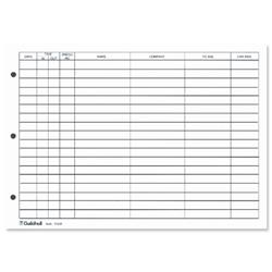 Guildhall Refill for Loose-leaf Visitors Book 50 Sheets A4 Ref T40/RZ