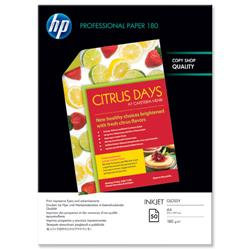 HP A4 180gm Glossy Superior Professional Brochure / Flyer Paper Ref C6818A - 50 Sheets
