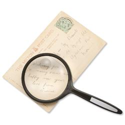 5 Star Facilities Round Magnifier 2x Main Magnification 4x Window Magnification Diam.76mm