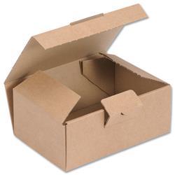 Easi Mailer Kraft Mailing Box W160xD110xH64mm Brown [Pack 20]