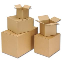 Packing Carton Double Wall Strong Flat Packed 457x457x457mm [Pack 15]