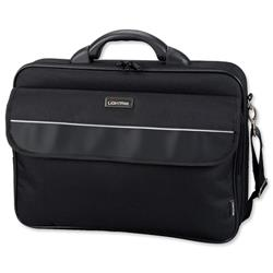Lightpak Elite Small Laptop Case Nylon Capacity 15.4in Black Ref 46110