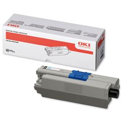 OKI Laser Toner Cartridge High Yield Page Life 5000pp Black Ref 44469804