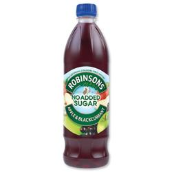 Robinsons Special R Squash No Added Sugar 1 Litre Apple and Blackcurrant Ref 0402013 [Pack 12]