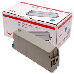 OKI Cyan Laser Toner Cartridge for C7100/C7300/C7500 Ref 41963007