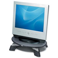 Fellowes Monitor Riser for TFT LCD 75-110mm Capacity 17inch/14kg W426xD289xH121mm Grey Charcoal Ref 91450