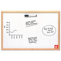 5 Star Value Drywipe Board Lightweight W600xH400mm - 906756