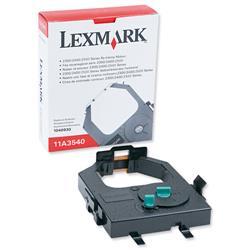 Lexmark 11A3540 Black Fabric Nylon Ribbon for 23XX/24XX Ref 11A3540