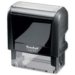 Trodat Printy VC/4913 Custom Stamp Self-Inking Up to 6 lines 56x22mm Ref 199897