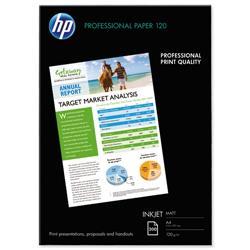 HP Professional Inkjet Paper Matt 120gsm A4 Ref Q6593A - 200 Sheets
