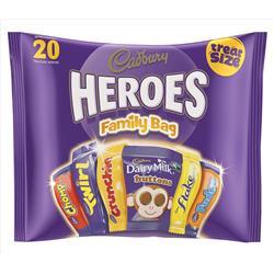Cadbury Heroes Family Bag 278g Ref A03807