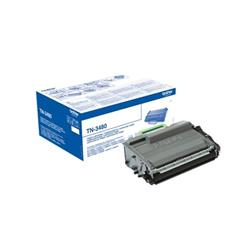 Brother Laser Toner Cartridge High Yield Page Life 8000pp Black Ref TN3480