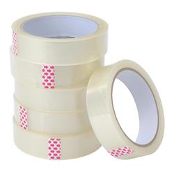 5 Star Value Clear Tape 25mmx66m Polypropylene - Pack 6