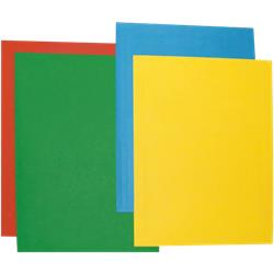 Cartelline Color Brefiocart - semplici - 35x50 cm - azzurro - conf. 50