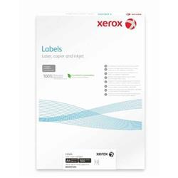 Xerox Monolaser Labels Rounded Corners 8up A4 99x67mm White Permanent  003r91224 Ref 003R91224 [Pack 100]