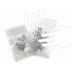 Grip Seal Bag Plain Gl00 40 X 65mm (1.5 X 2.5) 160g Ref G0 [Pack 1000]