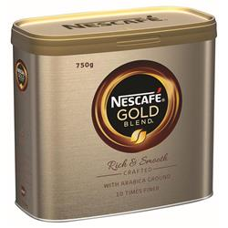 Nescafe Gold Blend Instant Coffee Tin 750g Ref 12339209 - Free Nestle Variety Pack when you buy 2 Nescafe Coffee tins