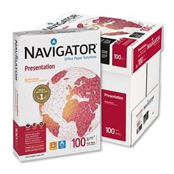 Navigator Presentation Paper A4 100gsm High Quality White 5 x 500 Sheets - Ref 391418