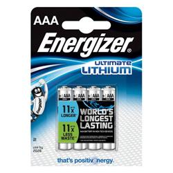 Energizer Ultimate Lithium (AAA) Lithium Batteries (Pack of - 639171