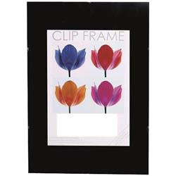 The Photo Album Company Signature (A1) Frameless Styrene Clip Frame (Black) Ref CF5984