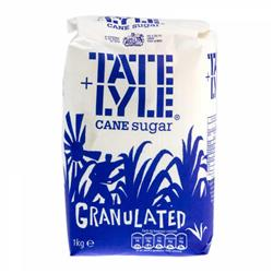 Tate and Lyle Granulated Pure Cane Sugar Bag 1kg Ref A06636