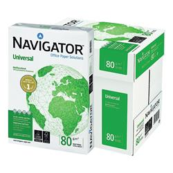 Navigator Universal Paper 80gsm A4 White Ref NUN0800033 - 2500 Sheets - Free Water Bottle when you buy 5 boxes of paper
