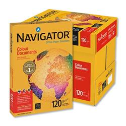 Navigator Colour Documents Ultra Smooth Paper 120gsm A4 White Ref 362038 - 8 x 250 Sheets