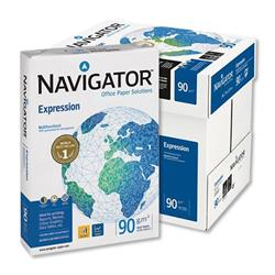 Navigator Expression Paper 90gsm A4  Extra Smooth Ream-Wrapped White Ref 377767 - 5 x 500 Sheets