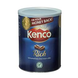 Kenco (750g) Really Rich Instant Coffee in a Resealable Tin (Pack Of 6 Promotional Offer) Ref 6XKencoRich