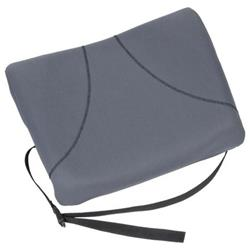 Fellowes Slimline Back Support Soft-touch Fabric with Adjustable Strap Black Ref 9190901