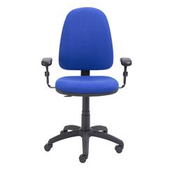 Zoom High Back Operator Chair with Adjustable Arms Royal Blue Ref CH0707RB+AC1046