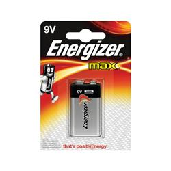 Energizer Max 9V/552 Battery - E300836600