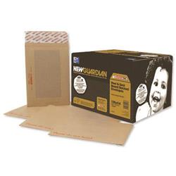New Guardian Envelope 444x368mm Board Back Peel and Seal 130gsm Manilla (50 Pack) C27726