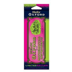 Helix Oxford Limited Edition 9-Piece Maths Set Pink (5 Pack) 170519