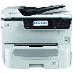 Epson WorkForce Pro WF-C8610DWF (A3+) Colour Inkjet Multifunction Wireless Printer (Print/Copy/Scan/Fax) Touchscreen LCD 35ppm (Mono) 35ppm (Colour) 75,000 (MDC)
