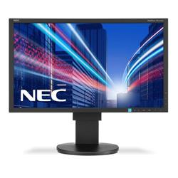 NEC MultiSync EA234WMi (23 inch) IPS LED Backlit Monitor 1000:1 250cd/m2 1920x1080 6ms HDMI/DisplayPort/DVI-D (Black)