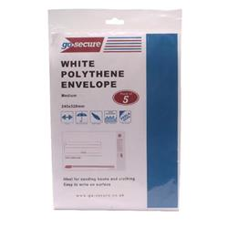Go Secure Extra Strong Polythene Envelopes 245x320mm (50 Pack) PB08231