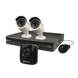 Swann 4 Channel 2 Camera DVR CCTV Kit FOC Dashcam SWNVK-474002-UK
