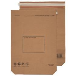 GoSecure Kraft Paper Mailer Bags 600x480x80mm (50 Pack) KMB1104