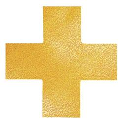 Durable Floor Marking Shape Cross (10 Pack) 170104