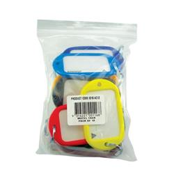 Kevron Giant Key Tags Assorted (12 Pack) ID10AC12