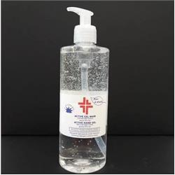 Gel igienizzante e disinfettante mani (alcol 70%) Active - Bosco di Rivalta - cilindrico - 500 ml
