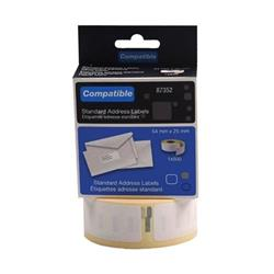 Compatible DYMO Return Address Label 54 x 25mm (500 Pack) LL87352