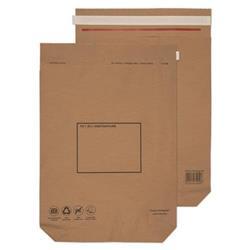 GoSecure Kraft Paper Mailer Bags 480x380x80mm (100 Pack) KMB1166
